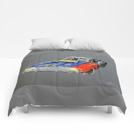 rusty roadkill charger Comforters