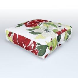 Winter Whites Outdoor Floor Cushion