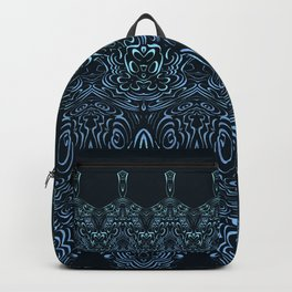 flowing lines pattern 1 Backpack