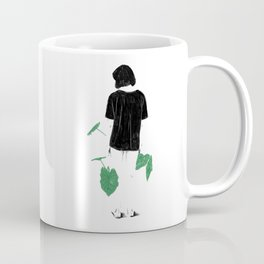 Amongst Green Coffee Mug