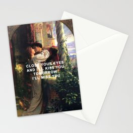 Romeo and Juliet Loving Stationery Cards