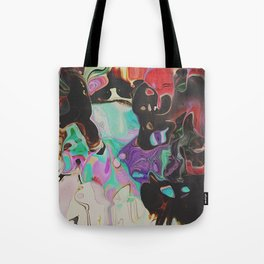 Abstract Distractions Tote Bag