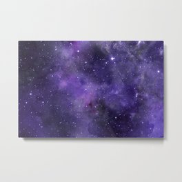 Purple powder Metal Print