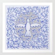 White Bird July 2017 Art Print