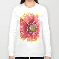 blanket Long Sleeve T-shirts featuring Blanket Flower by Regan's World