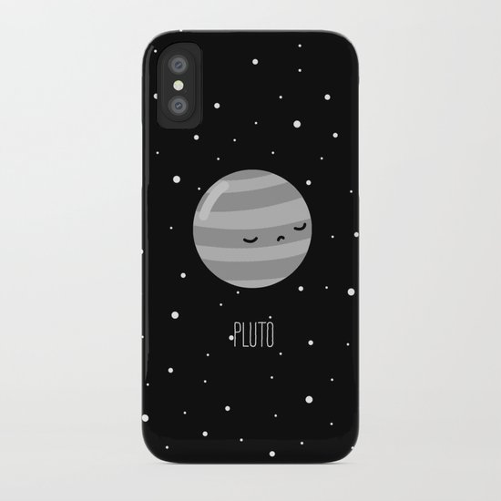 Pluto iPhone Case by Sarah Crosby  Society6