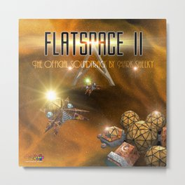 The Flatspace II Soundtrack Metal Print
