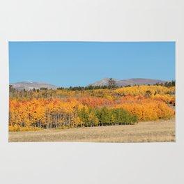 Autumn in Fairplay  Rug