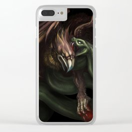 conflict Clear iPhone Case