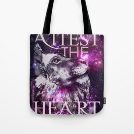 Galaxy Lion Tote Bag