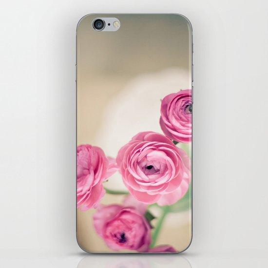 Ranunculus in Morning Light iPhone & iPod Skin