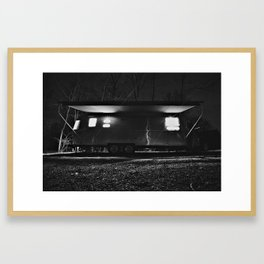 Airstream International Signature Framed Art Print