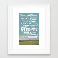 reassurance Framed Art Prints featuring Creative Reassurance  by Brandon Arnold