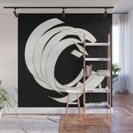 Beautiful Armor Letter C Wall Mural