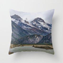 Parque Nacional los Glaciares - Patagonia - Argentina Throw Pillow