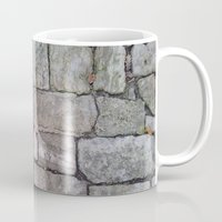 medieval Mugs featuring MEDIEVAL FLOOR by Melania Emma