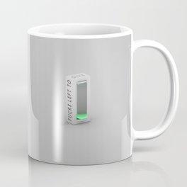 No Fucks Left To Give Coffee Mug