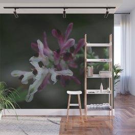 Earth Smoke Flower Wall Mural