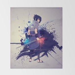 sasuke Throw Blanket