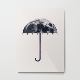 Space Umbrella II Metal Print