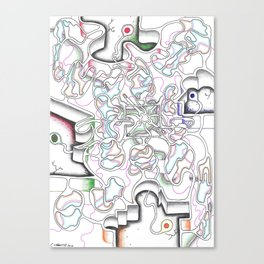 Body Cells  Canvas Print