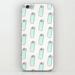 Lighter Pattern iPhone Skin