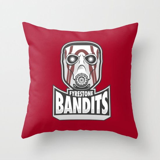 Fyrestone Bandits Throw Pillow