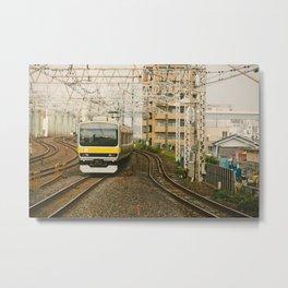 Sobu Line Local Metal Print
