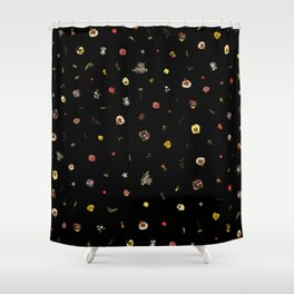 Floral Thorax Shower Curtain