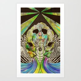 Calling Art Print