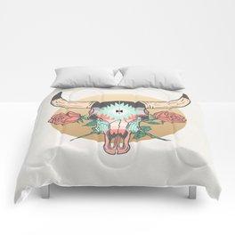 cráneo de vaca Comforters
