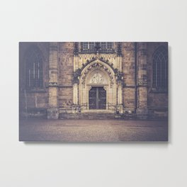 Cathedral door Metal Print