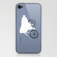 Negative Ghostrider. iPhone & iPod Skin
