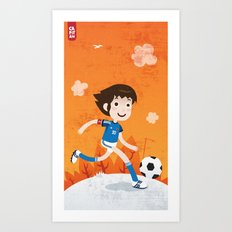 Tsubasa Art Print