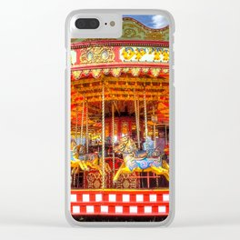 Carousel Merrygoround Clear iPhone Case