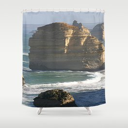 Giants of the Ocean Shower Curtain