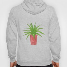 aloe on the pink Hoody