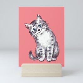 Little Kitten Mini Art Print