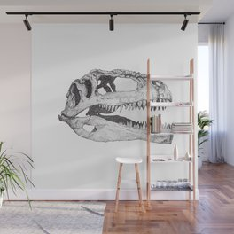 The Anatomy of a Dinosaur II - Jurassic Park Wall Mural