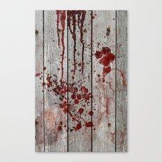 Murder Scene Canvas Print