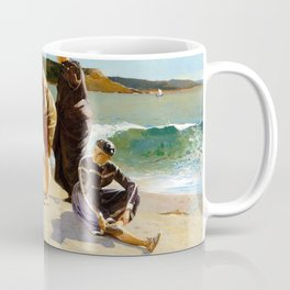 Winslow Homer1 - Eagle Head, Manchester, Massachusetts - Digital Remastered Edition Coffee Mug