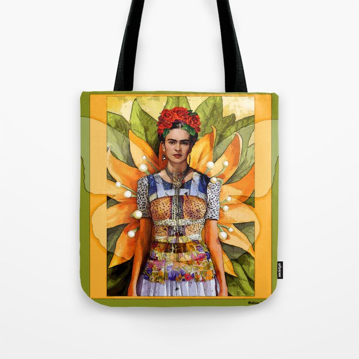 Tote Bag - Plant Life with Birds by VIDA VIDA