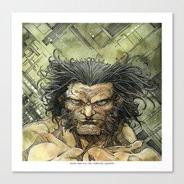 Logan by Roger Cruz Canvas Print