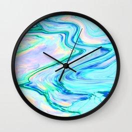 Marbled XXI Wall Clock