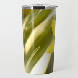 Spring atmosphere with yellow narcissus Travel Mug