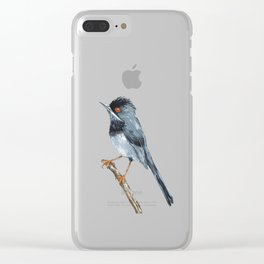 Rüppell's warbler Clear iPhone Case