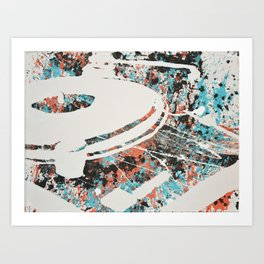 Paint Out Loud-Record Player Art Print