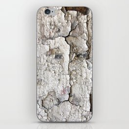 White Decay I iPhone Skin