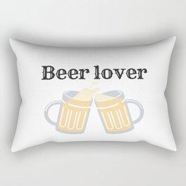 Beer lover Rectangular Pillow