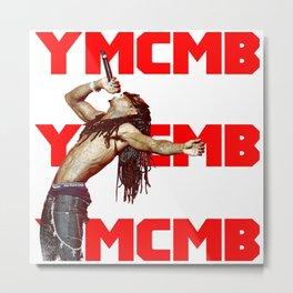 YMCMB LilWayne Metal Print